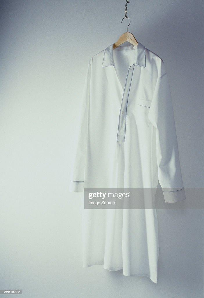 A white nightshirt