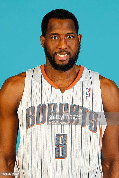White of the Charlotte Bobcats poses during media day on December 15 2011 at the Time Warner Cable Arena in Charlotte North Carolina NOTE TO USER...