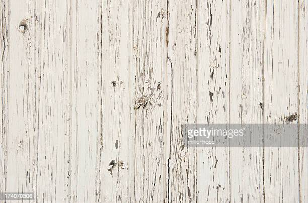 white paint on old wood