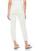 white pants with full sleeve top and with white background