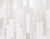 White wooden parquet flooring texture. Horizontal seamless wooden background.