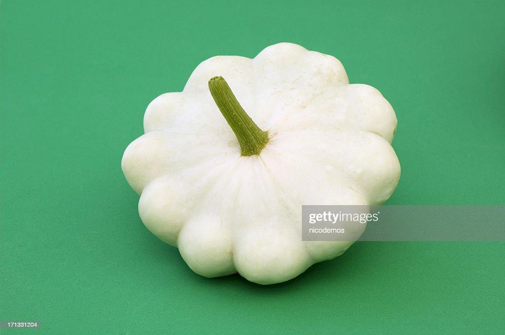 White Patisson Squash