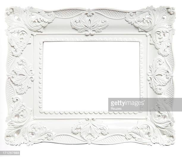Branca Moldura de Quadro