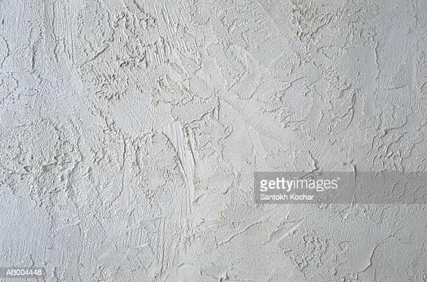 White Plaster Detail
