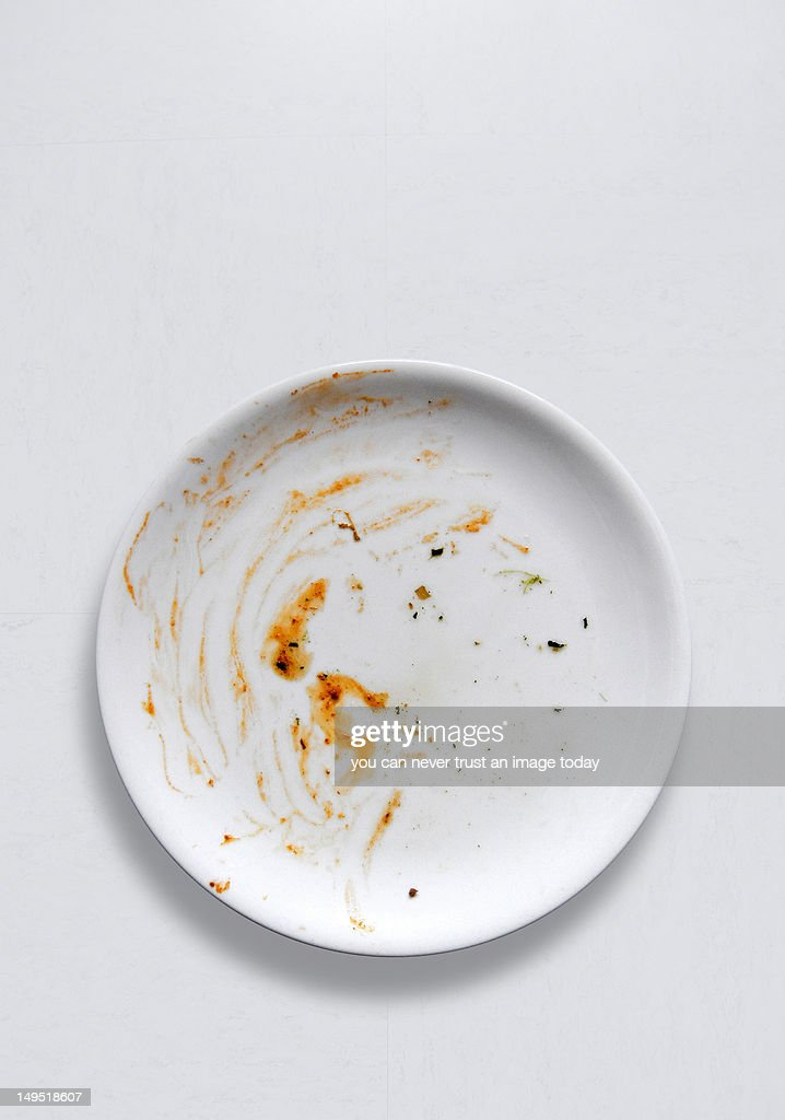 White plate : Stock Photo