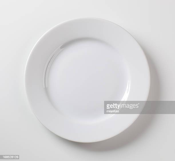 White plate