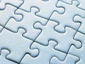 white puzzle pieces