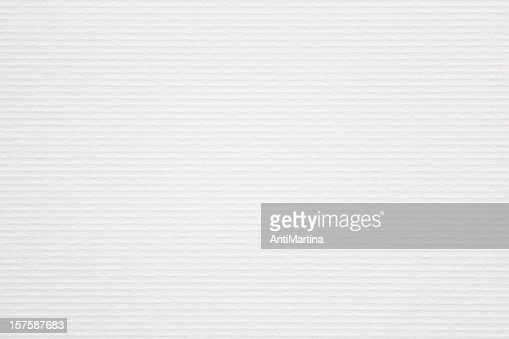 white ribbed paper as background