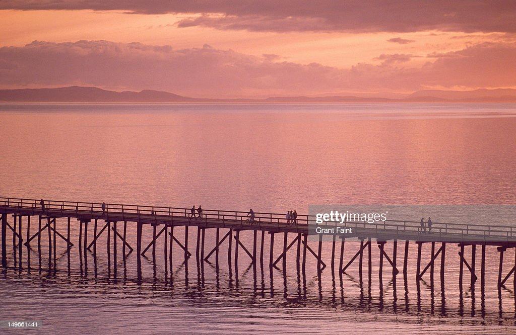 White Rock pier, British Columbia