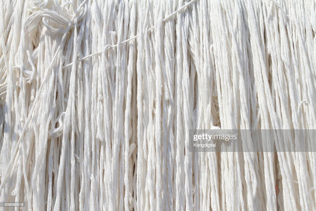 White ropes : Stock Photo