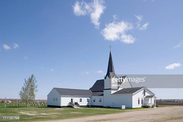 Blanc rural Église