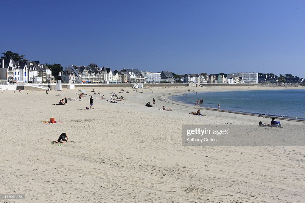 White Sand beach Quiberon Brittany