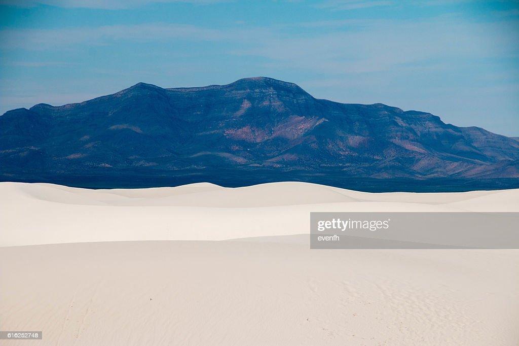 Monumento nacional de White Sands, Nuevo México : Foto de stock
