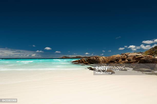 White sands of Lucky Bay
