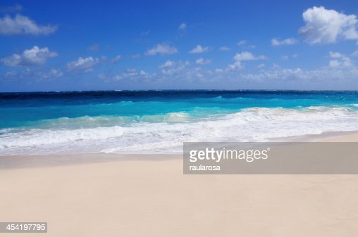 White Sandy beach : Stock Photo