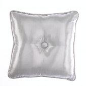 White satin pillow