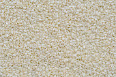 Preapared white sesame for cooking, White sesame seed background and texture