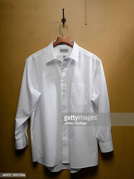 White Shirt on Closet Door