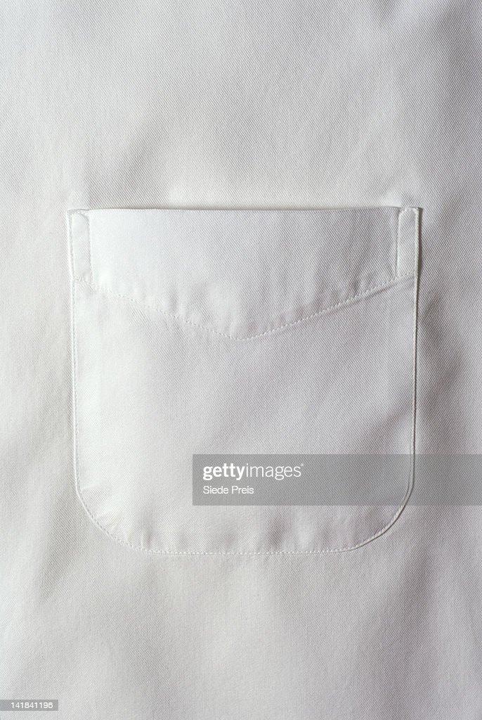 White shirt pocket