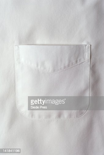White shirt pocket