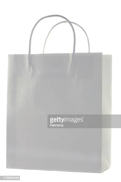 Blanco bolsa de la compra