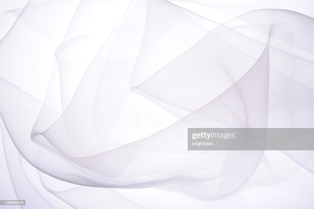 White silk