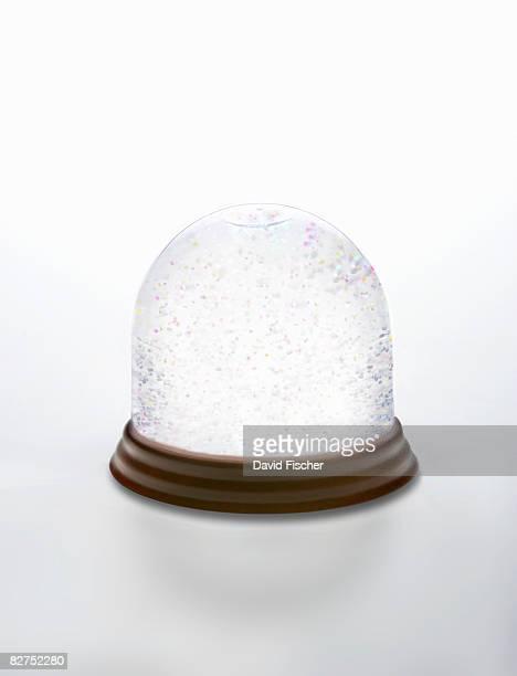 White Snow Globe