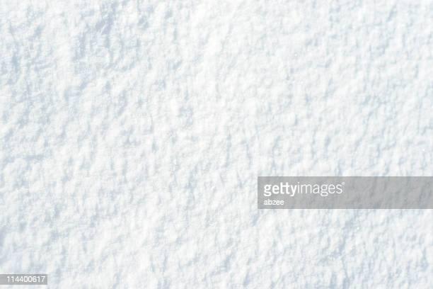 surface de la neige