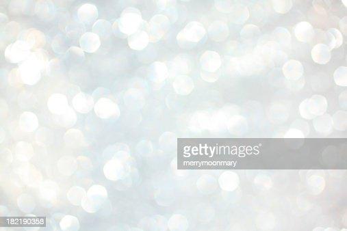 White sparkles