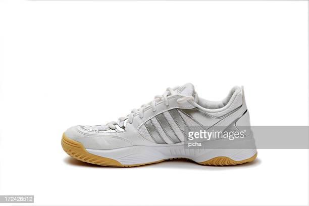Blanc chaussures de sport
