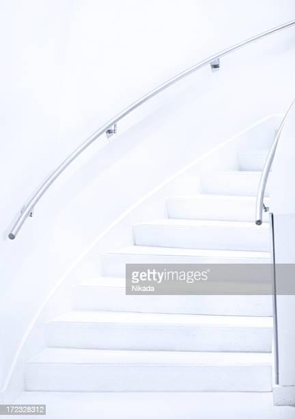 Weiße Treppe