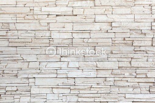 Piastrelle in pietra bianca texture muro di mattoni foto - Piastrelle muro pietra ...