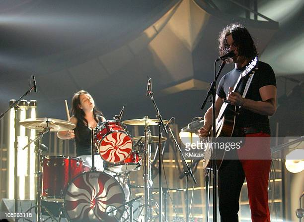 White Stripes during The 46th Annual GRAMMY Awards Rehearsals Day Four at Staples Center in Los Angeles California United States