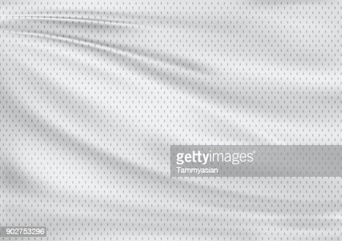 white textile sport background : Stock Photo