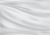 white textile background, illustration