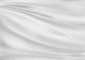white textile background, illustration