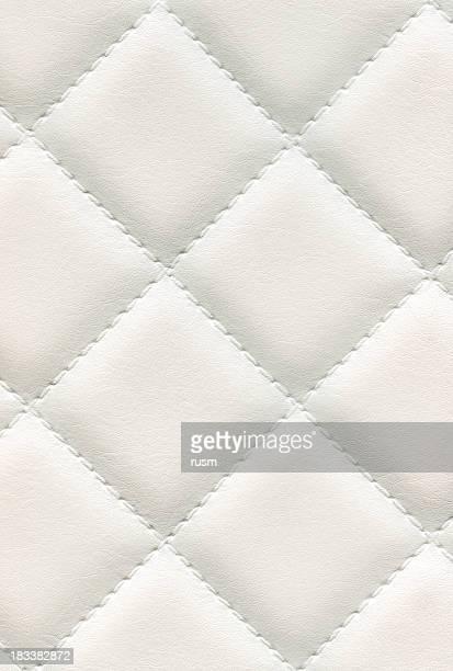 Texture de fond en cuir blanc