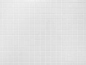 White tile wall Background Bathroom floor texture