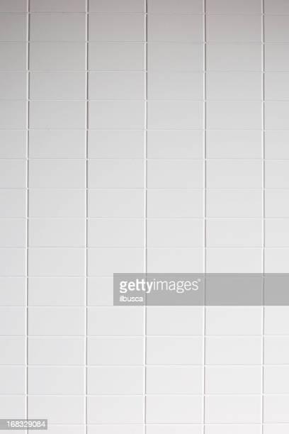 Fondo de textura de azulejos de pared blanca