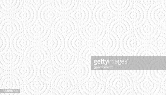 White tissue paper background with geometric design