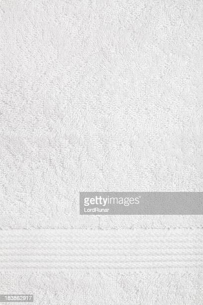 White towel background