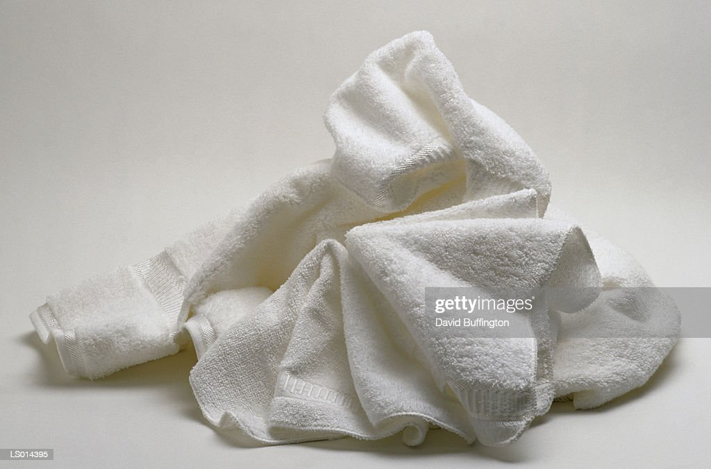White Towels : Stock Photo
