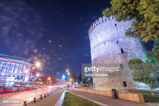White Tower - Thessaloníki : Stock Photo