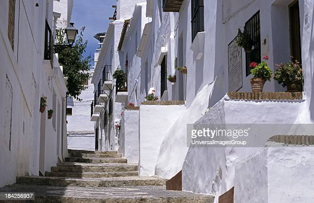 White Towns Frigiliana Andalusia Spain