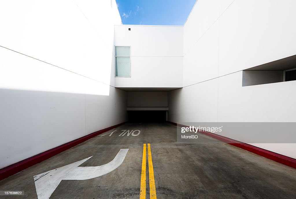 White Tunnel Entrance or Exit