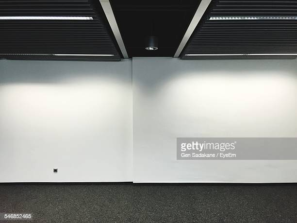 White Wall In Empty Room