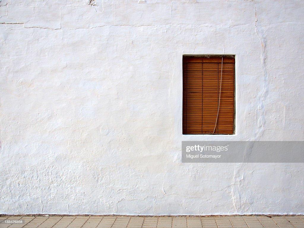 White wall : Stock Photo