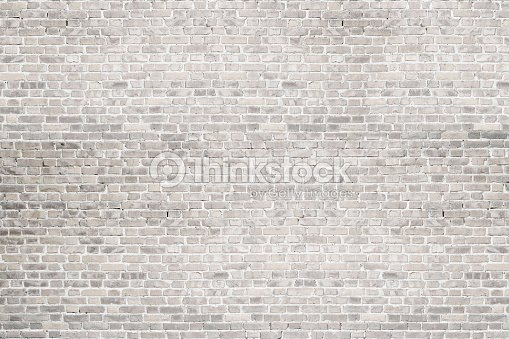 White Wash Brick Wall Texture Background For Text Or Image Stock Photo