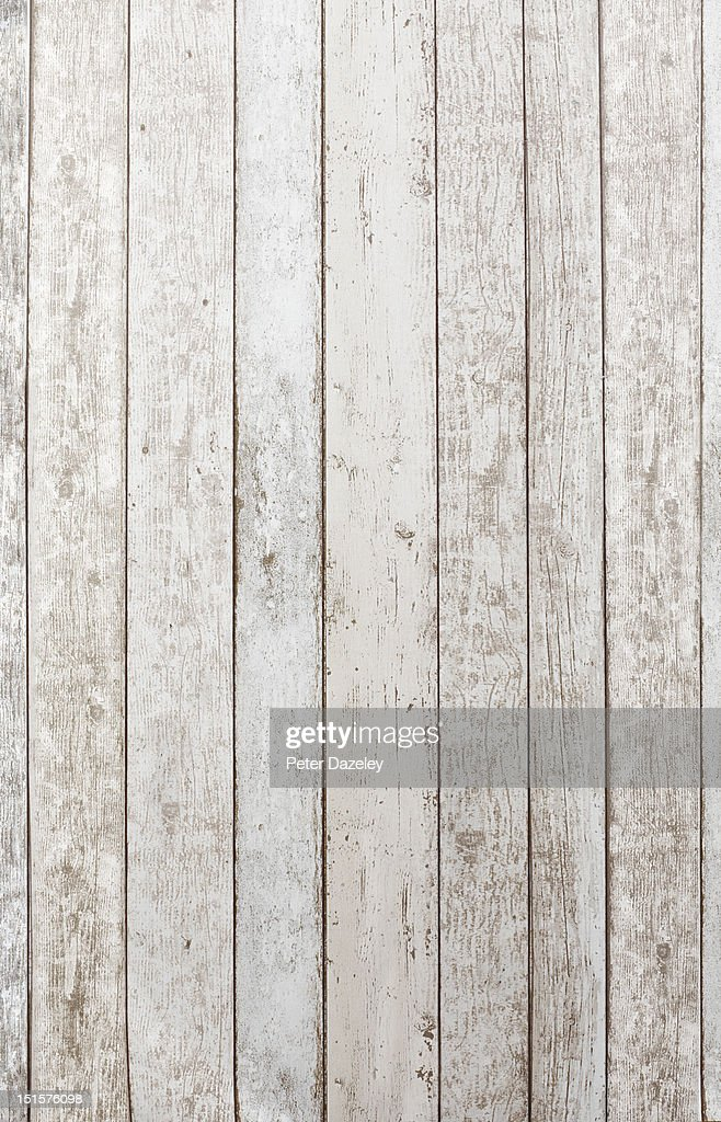 White washed wooden background