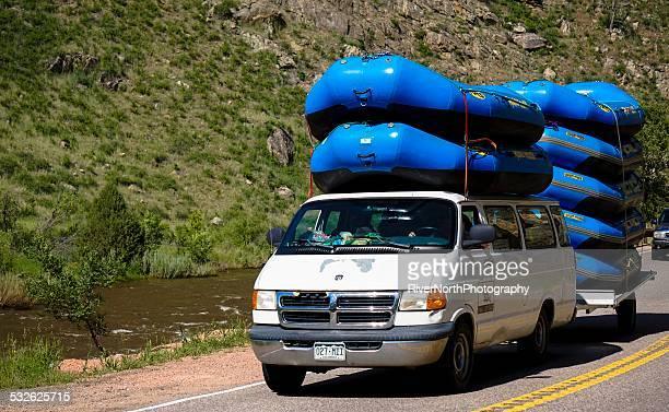 Rafting sulle rapide, Colorado